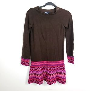 Gap kids knit long sleeve sweater dress size XXL